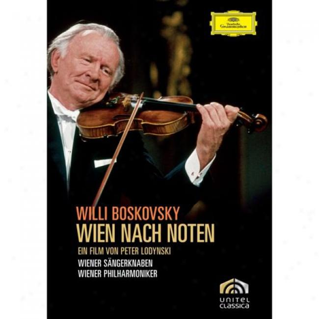 Wien Nach Noten: Vienna In Music (music Dvd) (amaray Case)