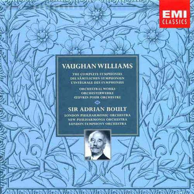 Williams: Cpmplete Symphonies And Orchestral Work
