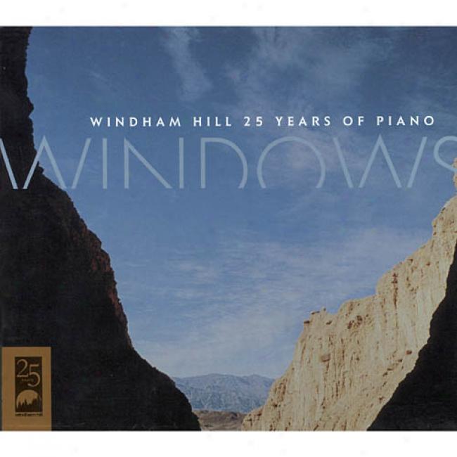Windows: Windham Hill 25 Years Of Piano (cd Slipcase)