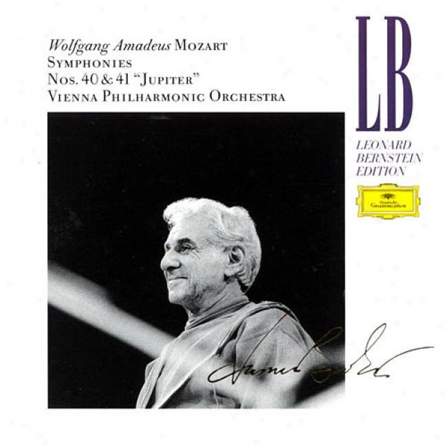 Wolfgang Amadeus Mozart: Symphonies Nos. 40 And 41 'jupiter'