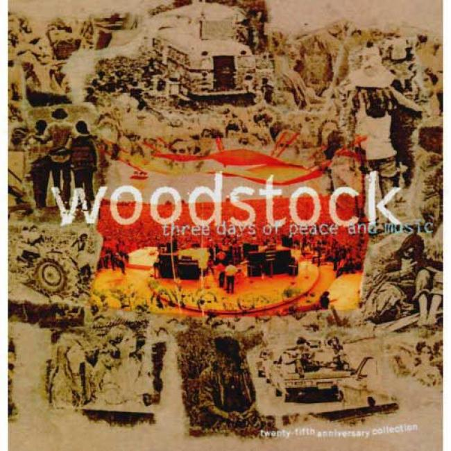 Woodstock: Three Days Of Peace And Music - The 25th Anniversary Collection (4 Disc Box Set) (remaster)