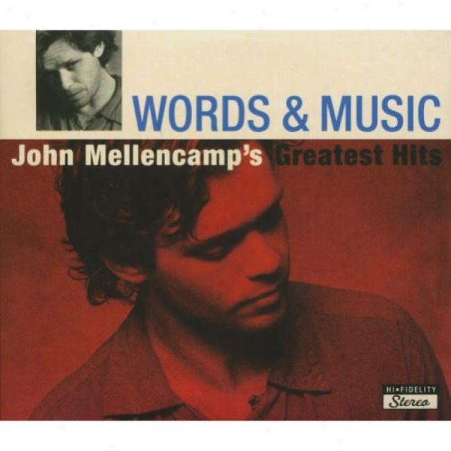 Words & Music: John Mellencamp's Greatest Hits (2cd) (digi-pak) (remaster)