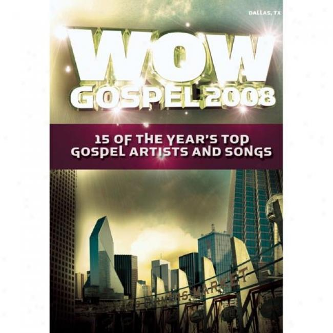 Wow Doctrine 2008: 15 Of The Year's Top Artists And Songs (music Dvd) (amaray Case)