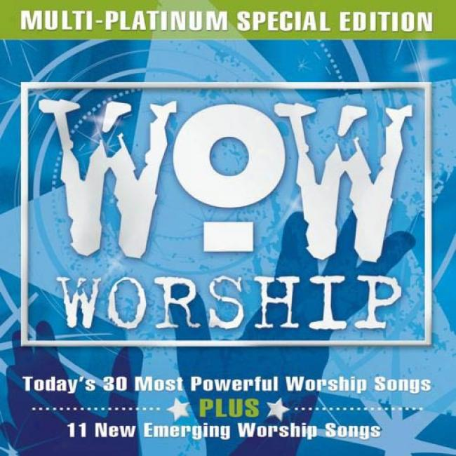 Wow Worship: Today's 30 Most Powerful Worship Songs (special Edition) (3cd) (cd Slipcase)