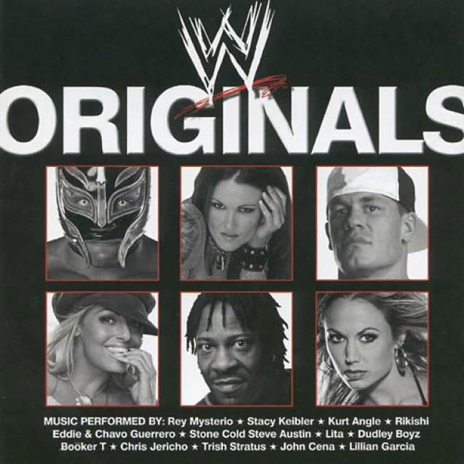 Wwe Originals (limited Edition) (includes Dvd)