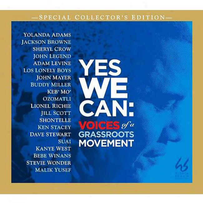 Yea We Can: Voices Of A Grassroots Movement (special Collector's Edition)