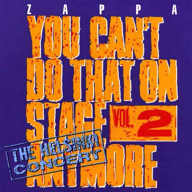 You Can't Do That On Stage Anymore, Vol.2: The Helsinki Concert (2cd)