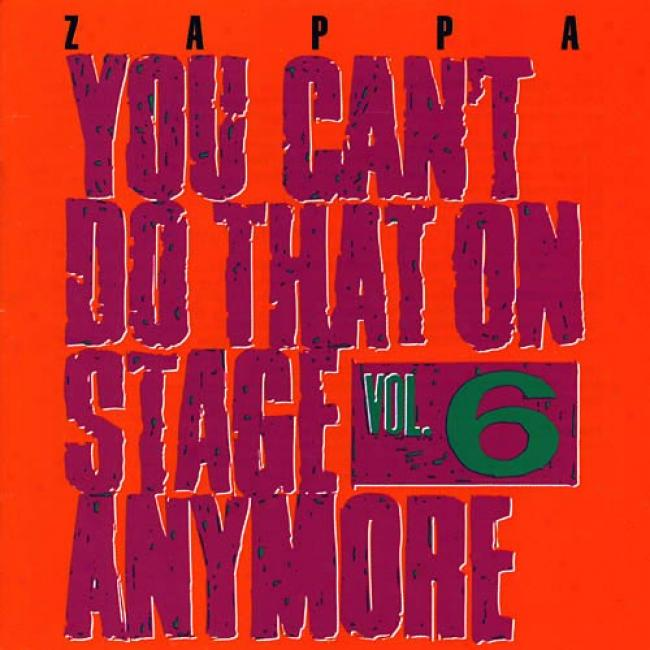 You Can't Do That On Stage Anymore, Vol.6 (2cd)