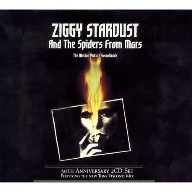 Ziggy Stardust And The Spiders From Mars Soundtrack (30th Anniverwary) (2cd) (cd Slipcawe)