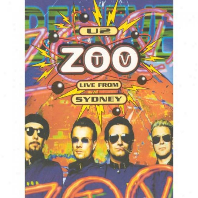 Zoo Tv: Live From Sydney (limited Esition) (2 Discs Music Dvd) (digi-pak) (dvd Slipcase)