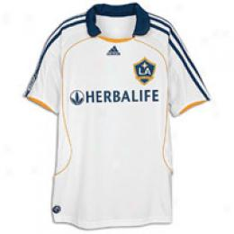 Adidas Big Kids La Galaxy Replica Hoem Jersey