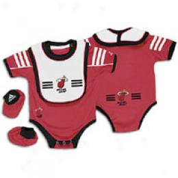 Adidas Infants Creeper/blb/bootie Set