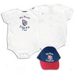 Adidas Infants Nba Cap & Bodysuit Set