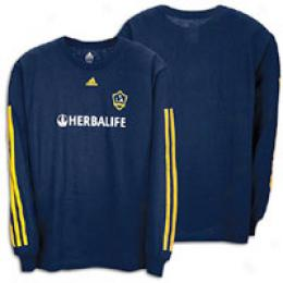 Adidas La Galaxy L/s Away Player Tee - Men's