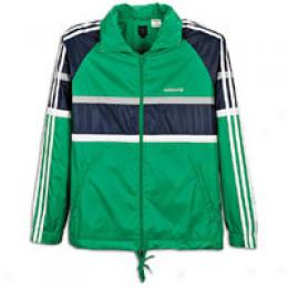Adidas Men's 3-stripes Archive Windbreker