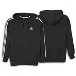 Adidas Men's 3-stripes Zip Fleece Hoody