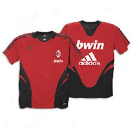 Adidas Men's Ac Milan Instruction Jersey