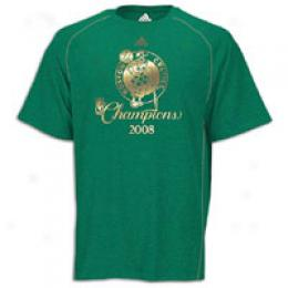 Adidas Men's Celtics Champions Anti-microbial T