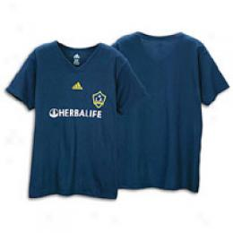 Adidas Men's La Galaxy  Away Player Tee
