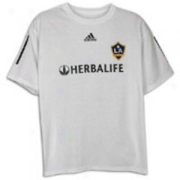 Adidzs Men's La Galaxy Home Player Tee