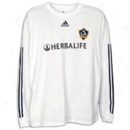 Adidas Men's La Galaxy L/s Home Player Tee