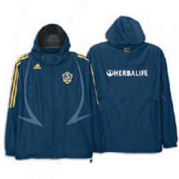Adidas Men's La Galaxy Rain Jacket
