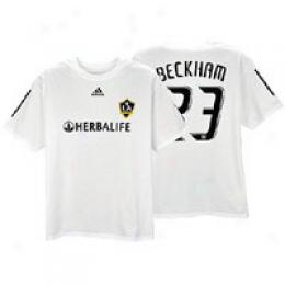 Adidas Men's La Galaxy Replica Home Tee