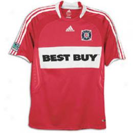 Adidas Men's Mls Cgicago Fire Replic aHome Jrsy