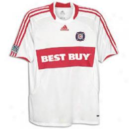 Adidas Men's Mls Chicago Fire Replica Away Jrsy