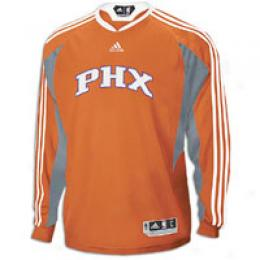 Adidas Men's Nba '09 On Court L/s Shooting Shirt