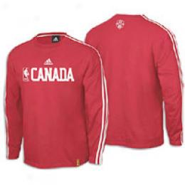 Adidas Men's Nba World Ls Tee
