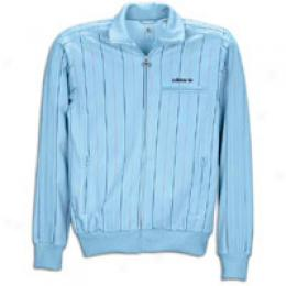 Adidas Men's Pinstripe Course Jacket