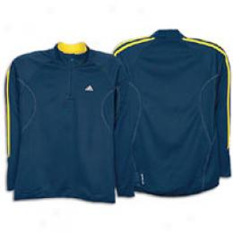 Adidas Men's Response Half Zip Cover fleecily