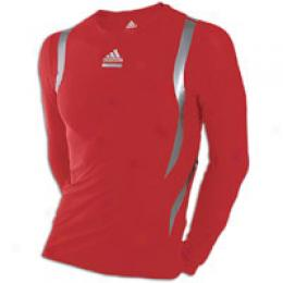 Adidas Men's Techfit Powerweb Ls Tee