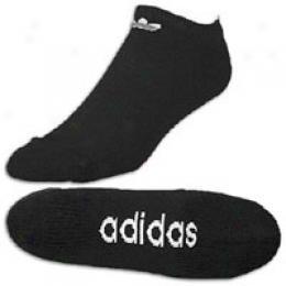 Adidas Men's Trefoil No Show 2pk