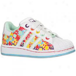 Adidas Originals Big Kids Superstar 2 Flower