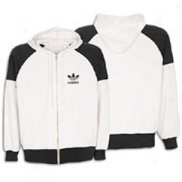 Adidas Originals Men's Full Zip Washed Hoody