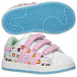 Adidas Originals Toddlers Superstar 2 Flower