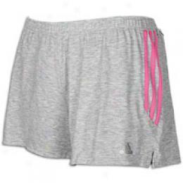 Adidas Women's Response Grey Heather 4in Short