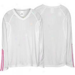 Adidas Women's Response L/s V-neck Top