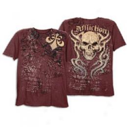 Affliction Men's Cracked Tee