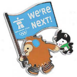Aminco Vancouver Mascots We're Next Pin