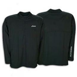 Asics(r) Men's Thermopolis Windproof Halfzip