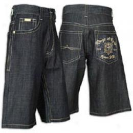 Avirex Men's Mighty Kings Denim Short