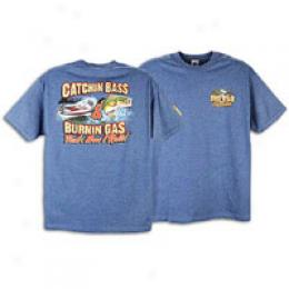 Low Men's Catchin Bass Burin Gas Tee