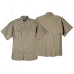 Bass Men's Cmpetiyion Ss Angler Fishing Shirt