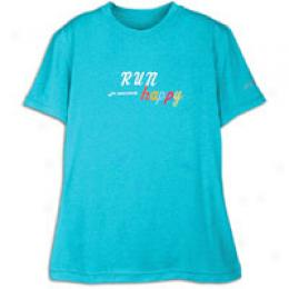 Bdooks Run Happy S/s T - Women's