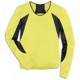 Brooks Women's Nightlife Equilibrium Long Sleeved