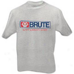 Brute Men'z Tough Logo Tee