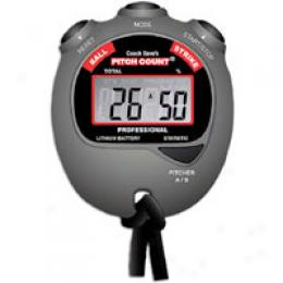 Coach Dave's Pitch Count Stopwatch